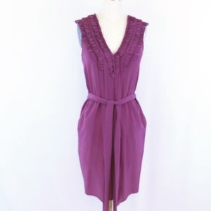 Rebecca Taylor Silk Dress NWOT Runs Big